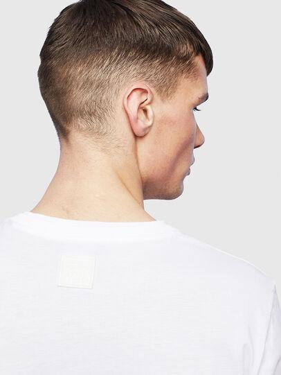 Diesel - T-HUSTY-LS, White - T-Shirts - Image 7