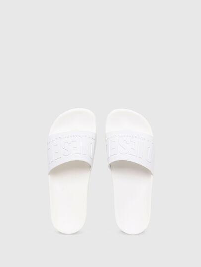 Diesel - SA-MAYEMI W, White - Slippers - Image 4