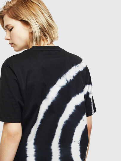 Diesel - T-JUST-T16, Black/White - T-Shirts - Image 4