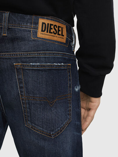 Diesel - THOSHORT, Dark Blue - Shorts - Image 5