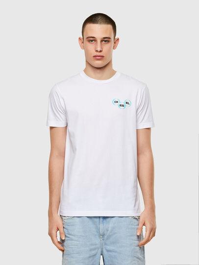 Diesel - T-DIEGOS-K41, White - T-Shirts - Image 1