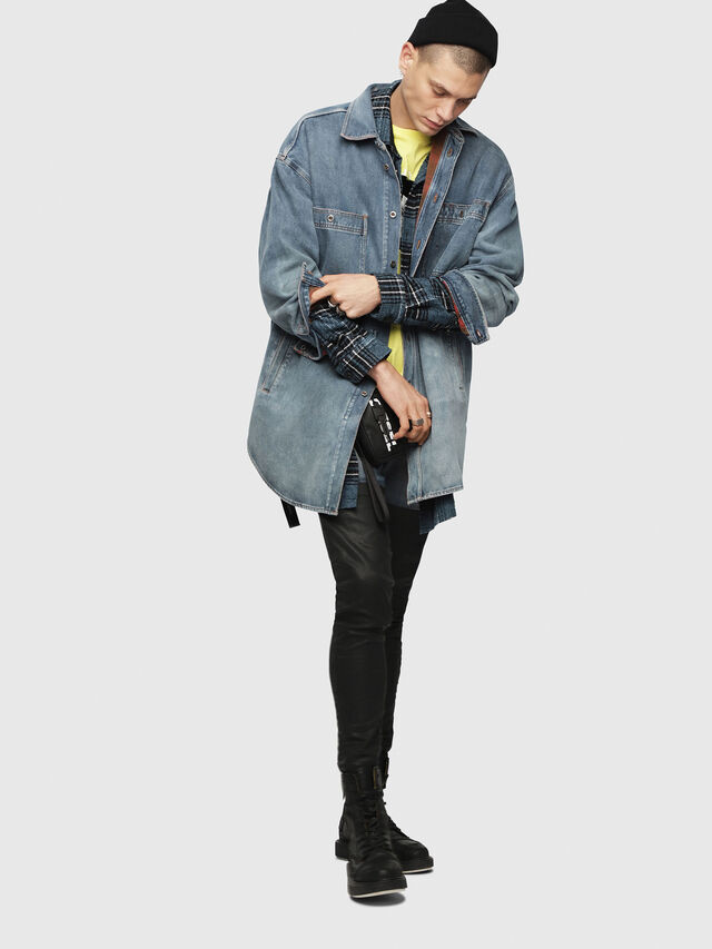 Diesel - D-LOREN, Blue Jeans - Denim Jackets - Image 6