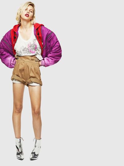 Diesel - S-BISA, Light Brown - Shorts - Image 6