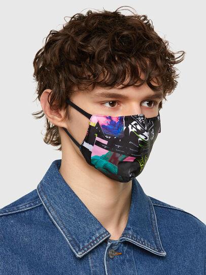 Diesel - FACEMASK-AMERICAN, Black - Other Accessories - Image 2