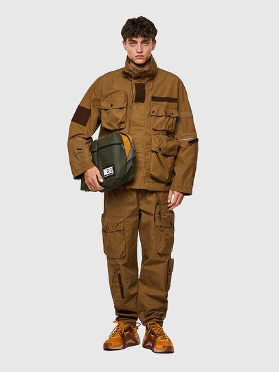 Diesel - CROSYO, Military Green - Crossbody Bags - Image 6