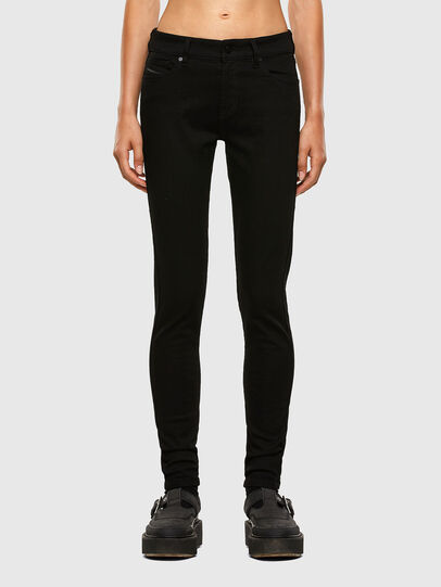 Diesel - Slandy 069EF, Black/Dark grey - Jeans - Image 1