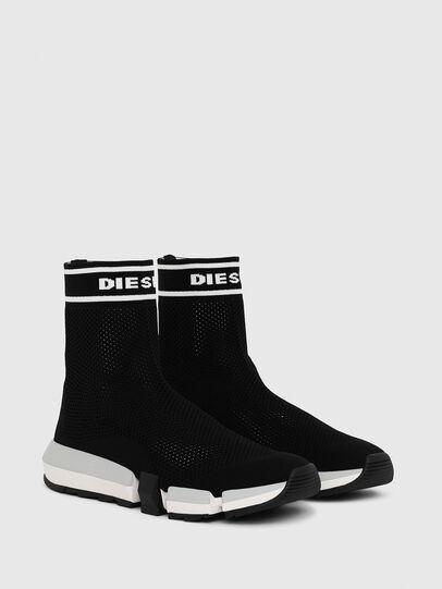 Diesel - H-PADOLA NET W, Black - Sneakers - Image 2