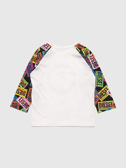Diesel - TENTYB, White - T-shirts and Tops - Image 2