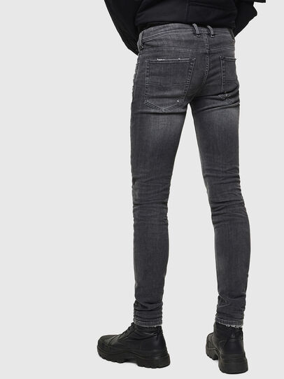 Diesel - Sleenker 069JR, Black/Dark grey - Jeans - Image 2