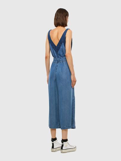 Diesel - DE-LORYNA, Medium blue - Jumpsuits - Image 7