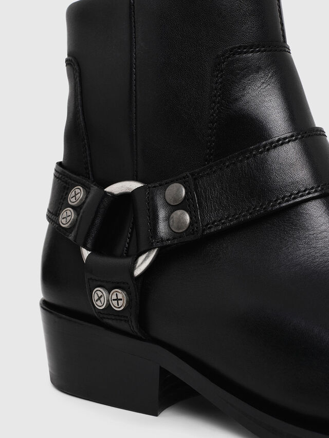 Diesel - D-BIOYS MC, Black - Boots - Image 4