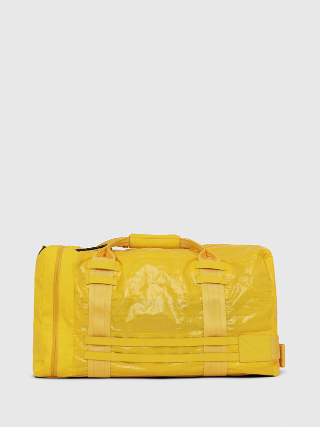 Diesel - M-CAGE DUFFLE M, Yellow - Travel Bags - Image 2