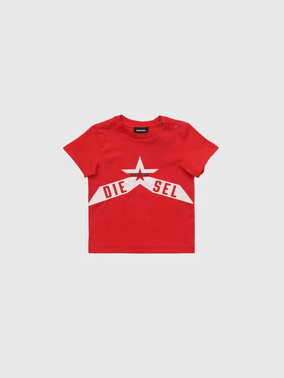 Diesel - TDIEGOA7B, Red - T-shirts and Tops - Image 1