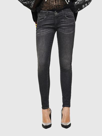 Diesel - Slandy Low 083AI, Black/Dark grey - Jeans - Image 1