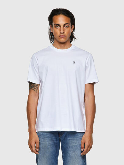Diesel - T-JUST-ROMOHI, White - T-Shirts - Image 1