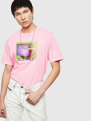 T-JUST-NEON-S1, Pink - T-Shirts
