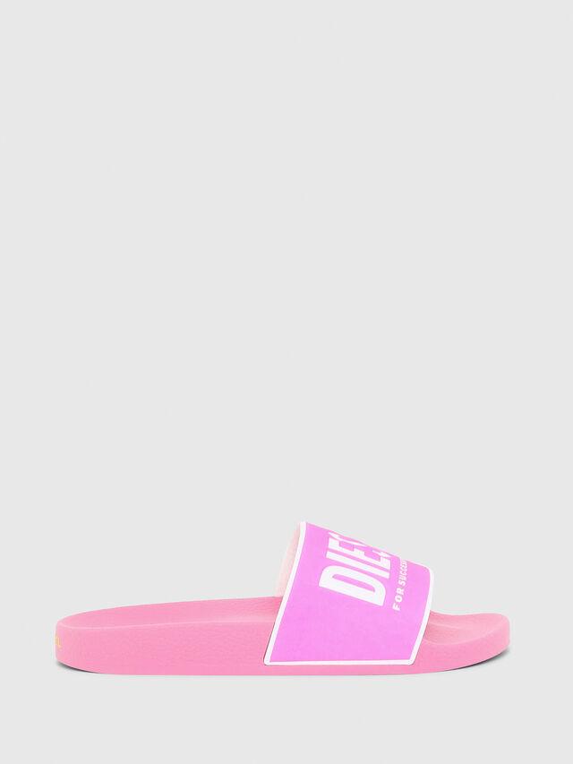 Diesel - SA-VALLA W, Pink - Slippers - Image 1