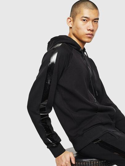 Diesel - S-GIMK-HOOD-J, Black - Sweaters - Image 4