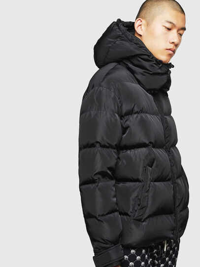 Diesel - W-SMITH-YA, Black - Winter Jackets - Image 3