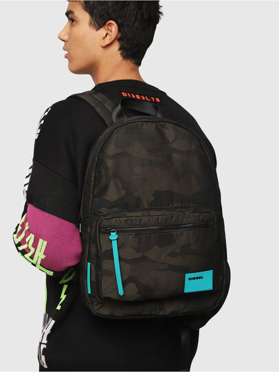 Diesel - F-DISCOVER BACK, Marron Military - Backpacks - Image 6