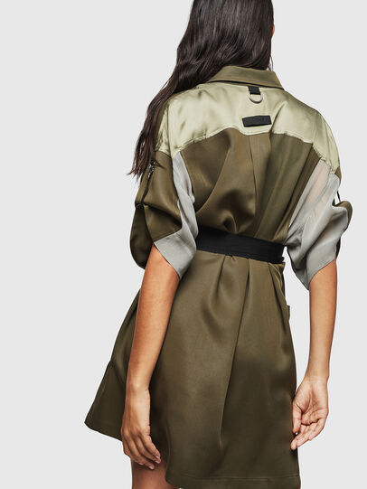 Diesel - D-TIEP, Military Green - Dresses - Image 2