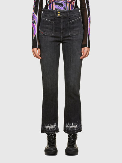 Diesel - D-Earlie 009JZ, Black/Dark grey - Jeans - Image 1
