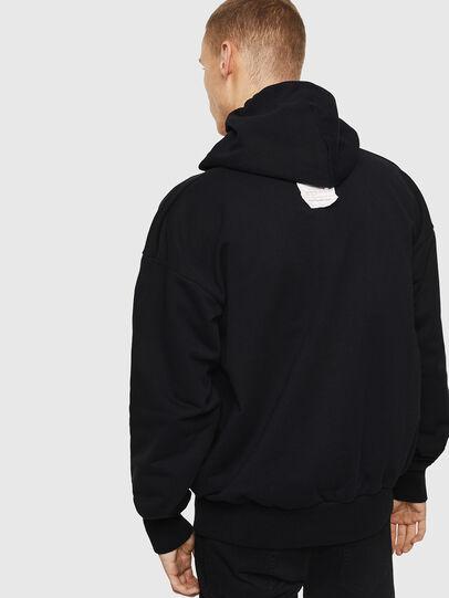 Diesel - S-ALBY-Y1, Black - Sweaters - Image 3