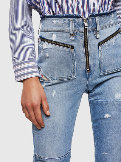 Diesel - D-Earlie 069GV, Light Blue - Jeans - Image 5