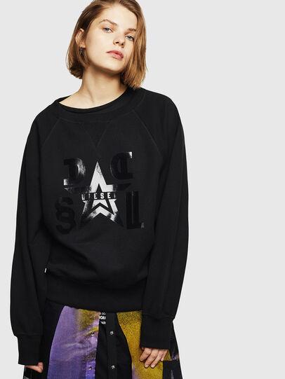 Diesel - F-HENNY-D, Black - Sweaters - Image 1
