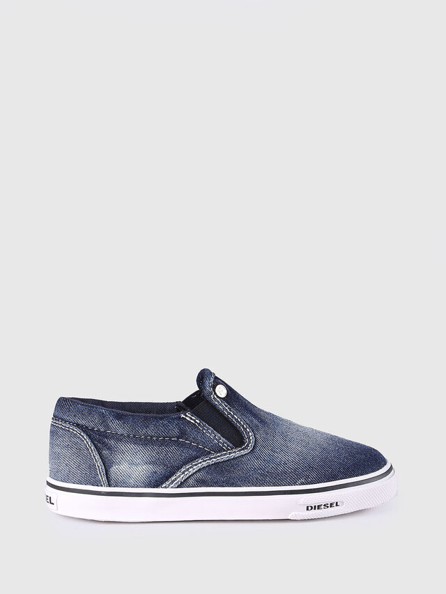 KIDS SLIP ON 21 DENIM CH, Blue Jeans - Footwear - Image 1