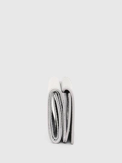 Diesel - LORETTINA, Silver - Small Wallets - Image 3