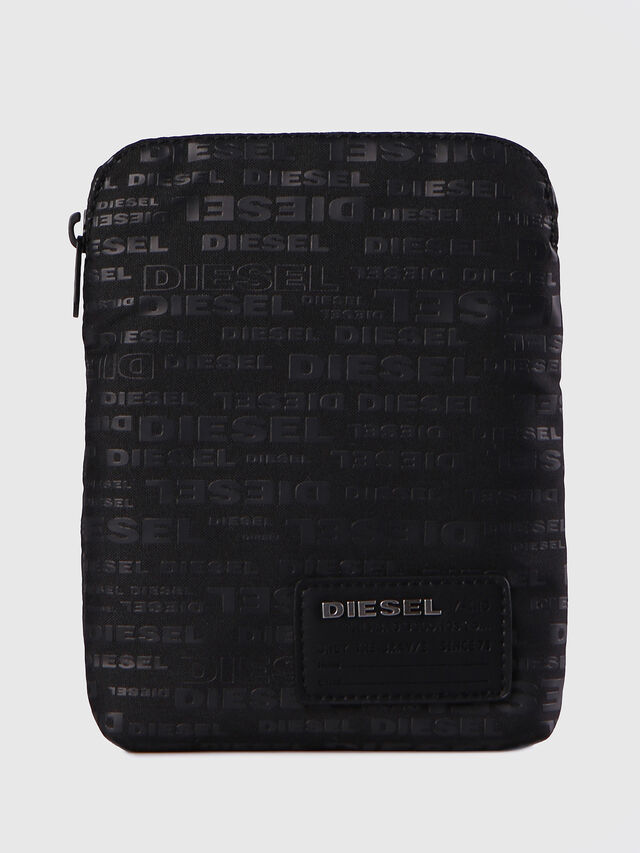 Diesel F-DISCOVER CROSS, Black - Crossbody Bags - Image 1