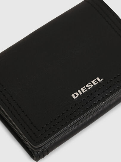 Diesel - LORETTINA, Black - Small Wallets - Image 5