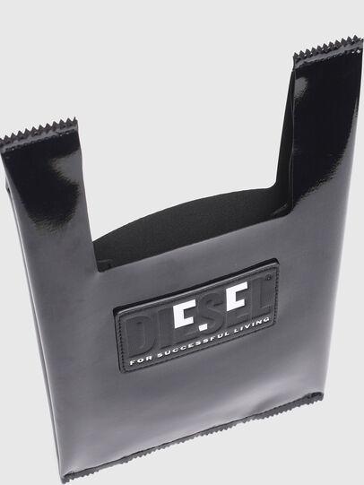 Diesel - GAR BAG XS, Black - Shopping and Shoulder Bags - Image 3