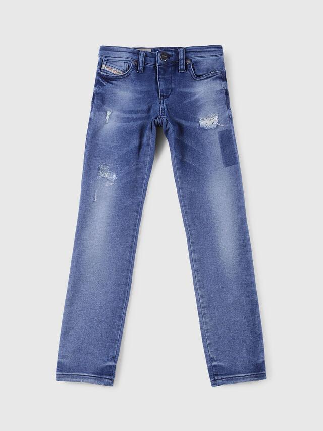 Diesel - SKINZEE-LOW-J-N JOGGJEANS, Blue Jeans - Jeans - Image 1