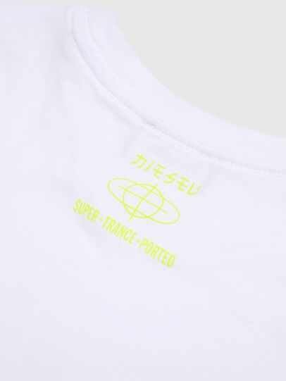 Diesel - TDIEGOYD, White - T-shirts and Tops - Image 4