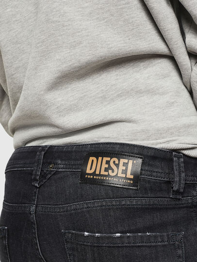 Diesel - Larkee 082AS, Black/Dark grey - Jeans - Image 4