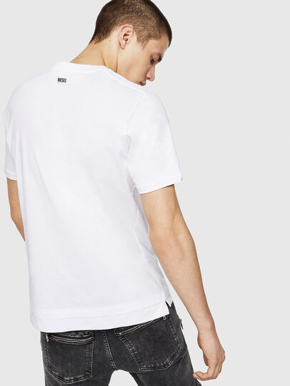Diesel - T-CHERUBIK-NEW, White - T-Shirts - Image 2