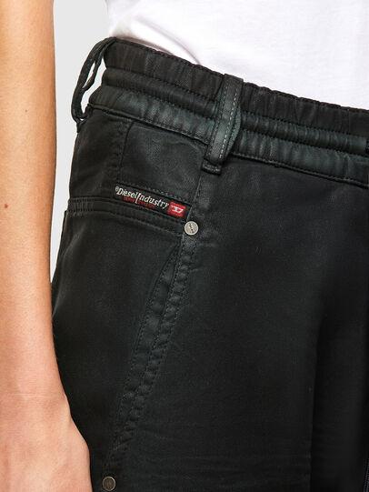 Diesel - Krailey JoggJeans 069QP, Black/Green - Jeans - Image 3