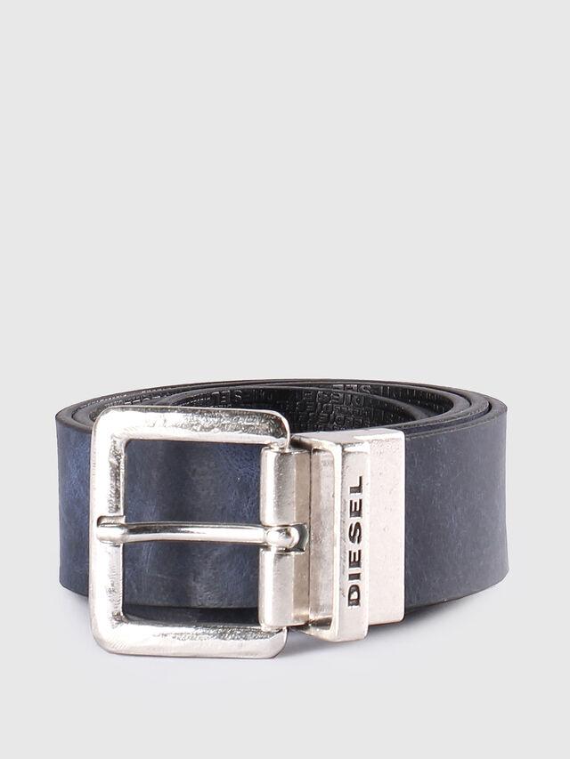 Diesel - B-TWIN, Black/Blue - Belts - Image 1