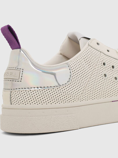 Diesel - S-CLEVER LC W, White/Pink - Sneakers - Image 4