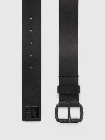 Diesel - B-DIVISION, Bright Black - Belts - Image 3