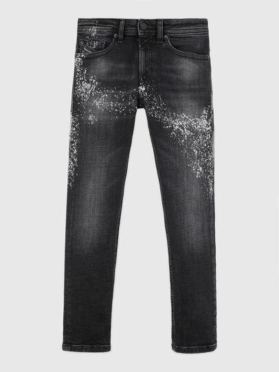 Diesel - THOMMER-J, Black/Dark grey - Jeans - Image 1