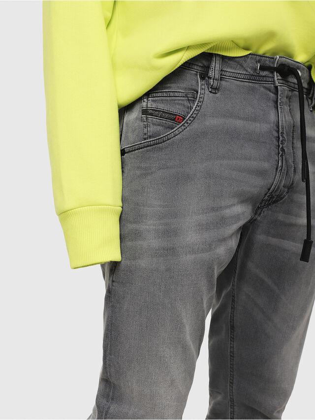 Diesel - Krooley JoggJeans 069EH, Black/Dark grey - Jeans - Image 3