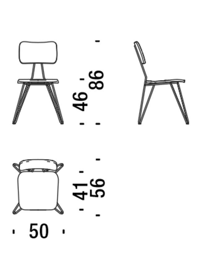 Living DL0F01 OVERDYED, Indigo - Chairs - Image 5