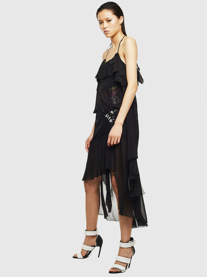 Diesel - D-FREY, Black - Dresses - Image 6