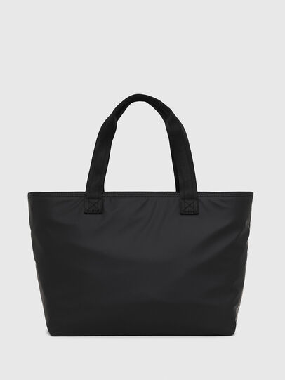Diesel - F-BOLD SHOPPER II, Black - Shopping and Shoulder Bags - Image 2
