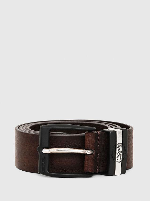Diesel - B-HIDDEN, Dark Brown - Belts - Image 1