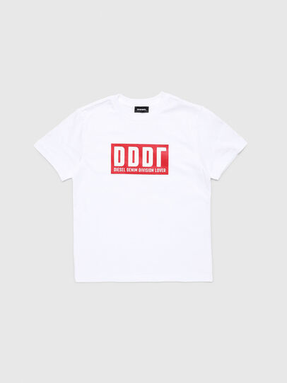 Diesel - TJUSTA9, White - T-shirts and Tops - Image 1