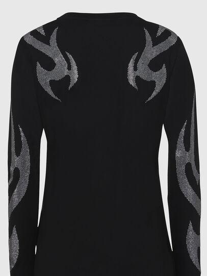 Diesel - T-ROSSINA, Black - T-Shirts - Image 5